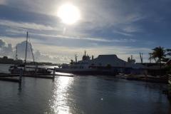 Hafen von Apia